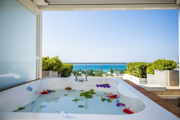 Terrace Room with Deluxe Jacuzzi